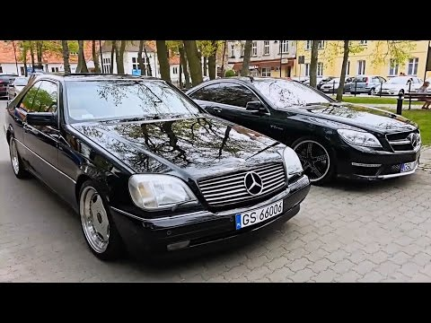 Mercedes CL 500 Lorinser Acceleration and Review vs CL 65 AMG