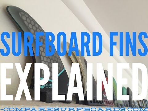 Surfboard Fins Explained no.15 | Compare Surfboards