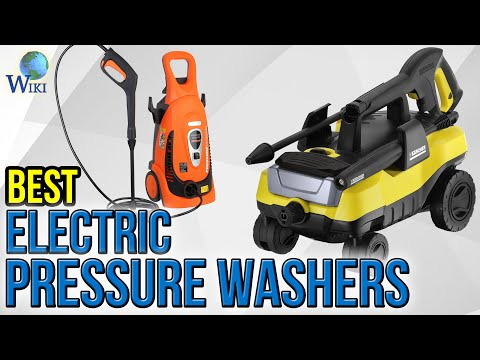 8 Best Electric Pressure Washers 2017