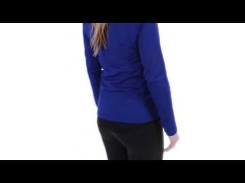 Adidas Hiking 1-Side Fleece Jacket - Zip Neck (For Women)