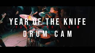 Year Of The Knife - Fatal and JRM - DRUM CAM (Live @ Chain Reaction)
