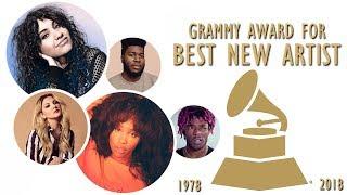 Grammy Award for: Best New Artist (1978-2018)