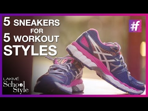 5 Best Workout Shoes For Women | #fame School Of Style