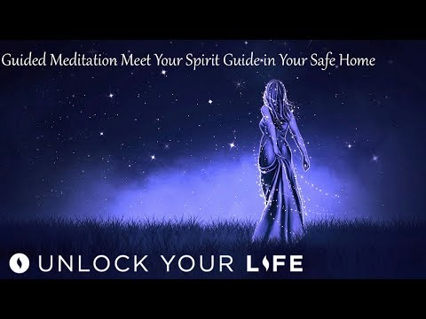 Meet Your Spirit Guide In Your Safe Place (with Cloak of Protection) Guided Meditation