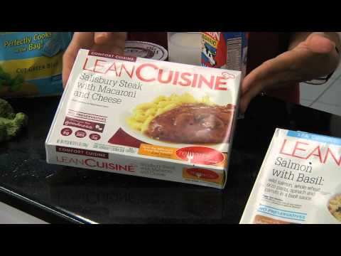 Which frozen dinner are actually healthy