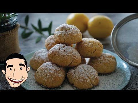 ITALIAN LEMON COOKIES | The Easiest Homemade Lemon Biscuits | Italian Food Recipes