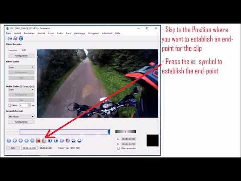 Avidemux tutorial: How to cut/edit/trim video-clips