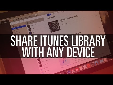 Share iTunes Library Between Devices