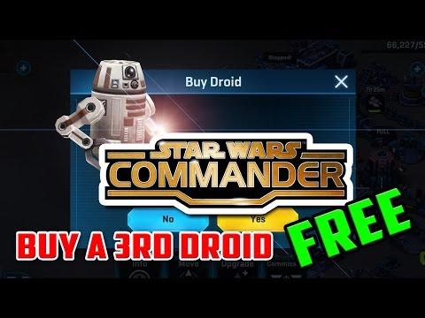 Get a Droid FREE in Star Wars Commander