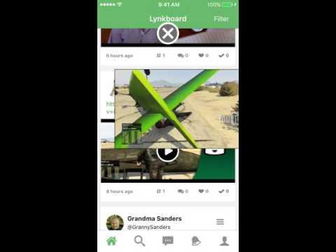 lynkboard ios youtube example
