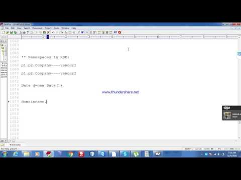 Creating XML file by using XSD file