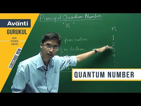 Quantum Number - Principal, Azimuthal - Atomic structure - Ashwin Sir