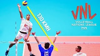 TOP » 30 Speed Spike | Powerful Spike | Volleyball Nations League 2018