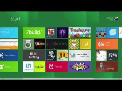 Windows 8 Developer Preview First Look on Mac using VMware Fusion