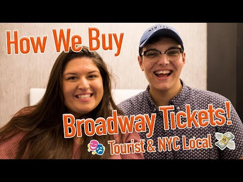 Ticket Talk with Jake! 🎟 Buying Broadway Tickets