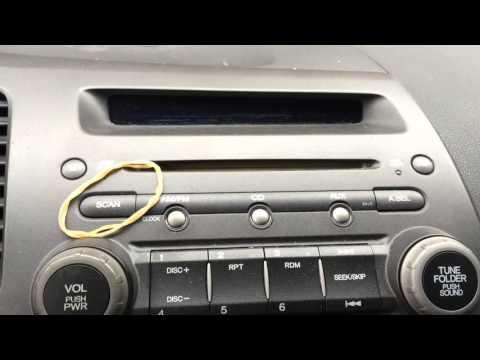 Secret Honda Security Radio Code Retrieval Super Easy : How to ep 5