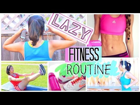 Lazy Fitness Routine for Teenagers | How to Get Fit Fast