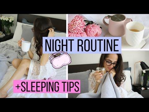 NIGHT ROUTINE + Tips To Help You Sleep!