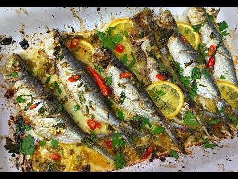 Oven Roasted Sardines - Tasty Tuesday's | CaribbeanPot.com