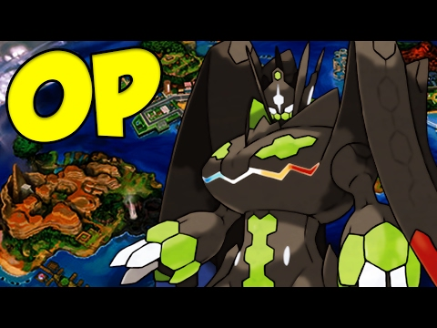 POWER CONSTRUCT ZYGARDE OP! Zygarde Complete Moveset and Zygarde Guide