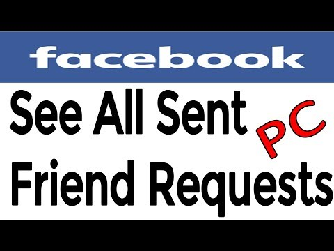 How To See All Pending Sent Friend Requests on PC  || How to Cancel Sent Friend Request || PC