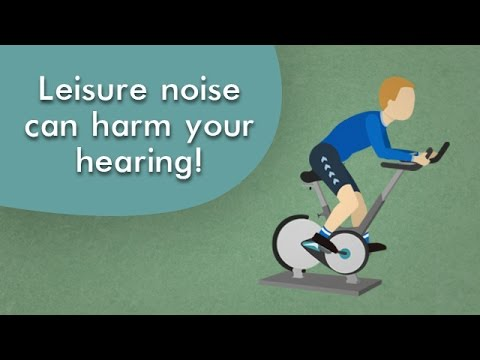 Leisure noise can harm your hearing!