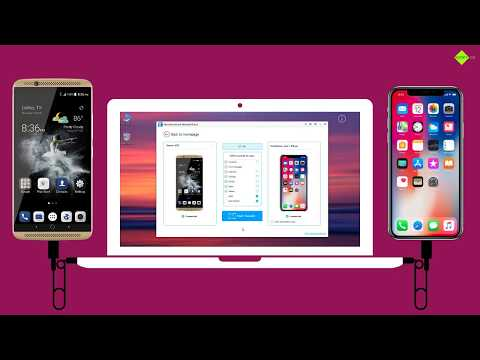 How to Transfer Data from ZTE Android to iPhone X ?