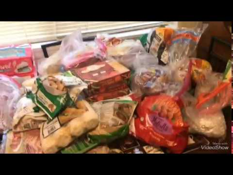 What's in my freezer!!! meal plan and Grocery List👍
