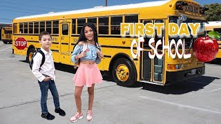 THE FIRST DAY OF SCHOOL | Familia Diamond