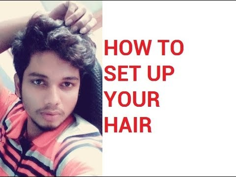 How to Setup Men's Hair | Perfect HairStyle for men | Men Hair Styling Tips | Mens Hair Cut