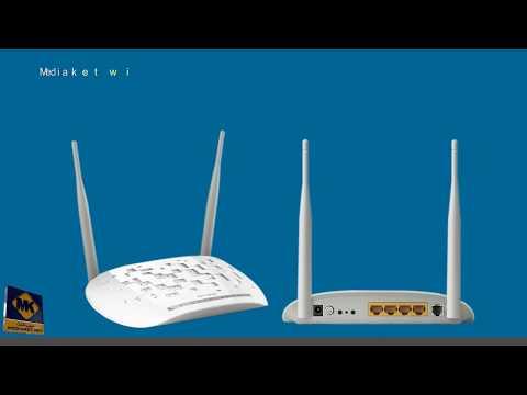 Modem TP-LINK TD-W8961N configuration - English