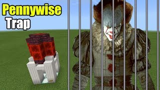 How to Make the PENNYWISE TRAP | Minecraft PE