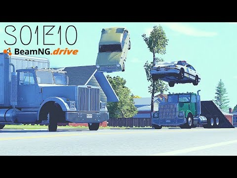 Beamng Drive Movie: Season Finale (New Content + All Episodes) (+Sound Effects)  Part 10  - S01E10