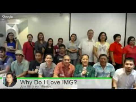 Why Did I Join IMG?  August 6, 2016