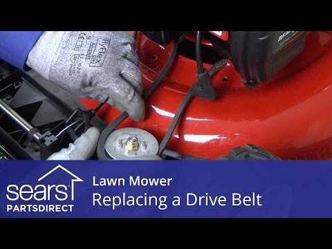 Replacing the Drive Belt on a Lawn Mower