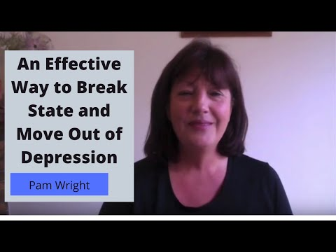 An Effective Way to Break State and Move Out of Depression