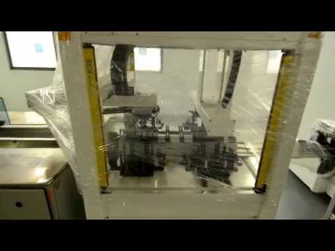 35 MW solar cell manufacturing line video