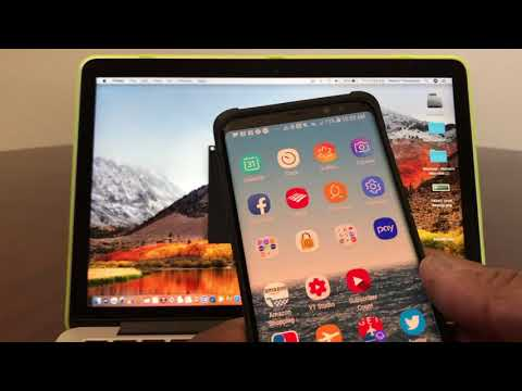 How To Unlock Your MackBook With Your Galaxy Note 8 or 9!
