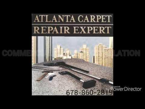 How to install Commercial glue down carpet yourself - Atlanta Carpet Repair Expert