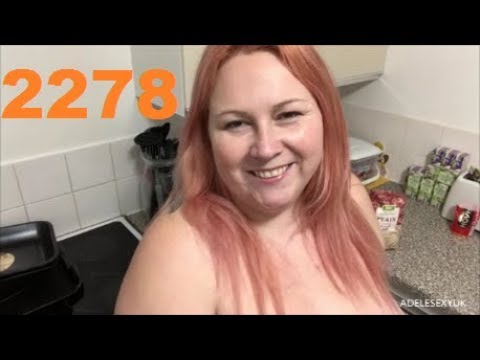 Xxx Mp4 ADELESEXYUK DOING A QUICK ADVERT ON HER NATURIST BAKING SESSION 3gp Sex