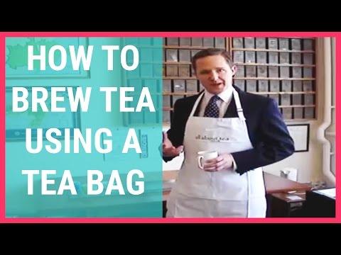 How To Brew Tea Using a Tea Bag