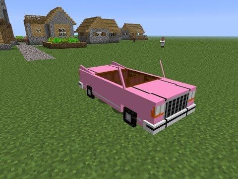 WORKING CAR TUTORIAL - Minecraft: PS3/PS4 & Xbox 360/Xbox One & Wii U