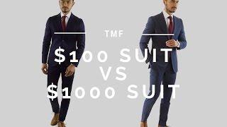 $100 Suit vs $1000 Suit