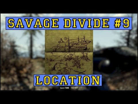 Fallout 76 | Savage Divide Treasure Map #9 LOCATION!