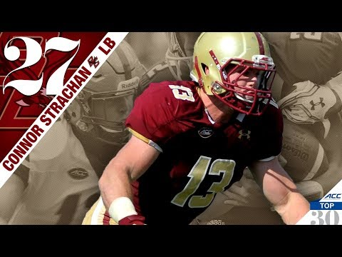 Connor Strachan - Boston College LB   ACC Top 30