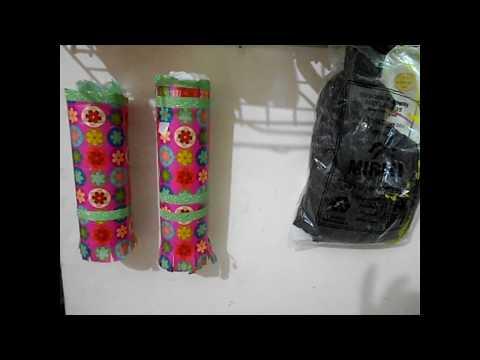 DIY Plastic Bag Dispenser    How To Make Easy/ Affordable Plastic Bag Dispenser/ Organizer  At Home