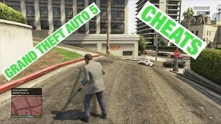 Grand theft auto 5 cheats showcase Xbox 360 or Xbox one