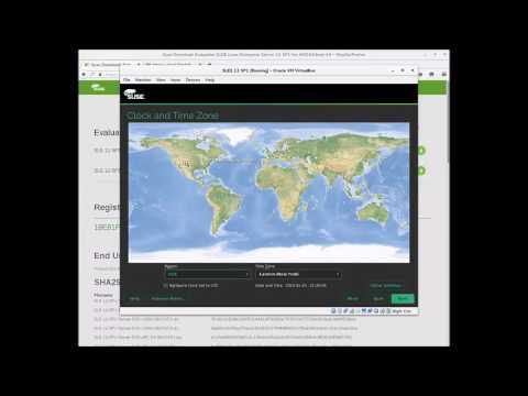 SUSE Linux Enterprise Server Installation Walk-through