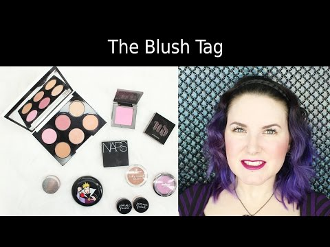 The Pale Girl's Guide to Blushes - The Blush Tag | Phyrra