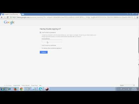 Easiest way to Recover your Gmail Account 2015
